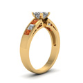 yellow-gold-princess-white-diamond-engagement-wedding-ring-with-orange-sapphire-in-channel-set-FD1001PRRGSAORANGLE2-NL-YG-30