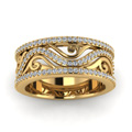 yellow-gold-round-white-diamond-wedding-band-in-prong-set-FD121691BANGLE5-NL-YG