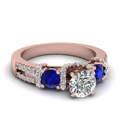 rose-gold-round-white-diamond-engagement-wedding-ring-with-blue-sapphire-in-prong-set-FD65511RORGSABL-NL-RG