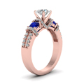rose-gold-round-white-diamond-engagement-wedding-ring-with-blue-sapphire-in-prong-set-FD65511RORGSABLANGLE2-NL-RG