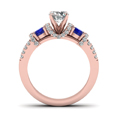 rose-gold-round-white-diamond-engagement-wedding-ring-with-blue-sapphire-in-prong-set-FD65511RORGSABLANGLE3-NL-RG