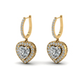 heart-shaped-diamond-halo-hoop-earrings-with-white-diamond-in-14K-yellow-gold-FDEAR1107ANGLE1-NL-YG