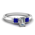 white-gold-emerald-white-diamond-engagement-wedding-ring-blue-sapphire-in-prong-set-FDENR264EMRGSABL-NL-WG