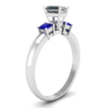 white-gold-emerald-white-diamond-engagement-wedding-ring-blue-sapphire-in-prong-set-FDENR264EMRGSABLANGLE2-NL-WG