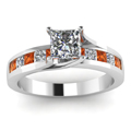 white-gold-princess-white-diamond-engagement-wedding-ring-with-orange-sapphire-in-channel-set-FDENR7776PRRGSAORANGLE5-NL-WG