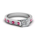 white-gold-princess-white-diamond-engagement-wedding-ring-with-dark-pink-sapphire-in-pave-set-FDENS1102PRRGSADRPI-NL-WG