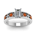 white-gold-emerald-white-diamond-engagement-wedding-ring-with-orange-sapphire-in-channel-set-FDENS1828EMRGSAORANGLE5-Nl-WG