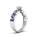 white-gold-pear-white-diamond-engagement-wedding-ring-with-blue-sapphire-in-micropave-set-FDENS3031PERGSABLANGLE2-NL-WG-30
