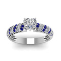 white-gold-heart-white-diamond-engagement-wedding-ring-with-blue-sapphire-in-pave-set-FDENS3048HTRGSABLANGLE5-NL-WG-30
