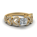 yellow-gold-princess-white-diamond-engagement-wedding-ring-in-micropave-set-FDENS3051PRR-NL-YG