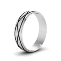 white-gold-fancy-milled-design-mens-wedding-band-FDM944BANGLE2-NL-WG