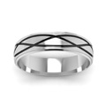 white-gold-fancy-milled-design-mens-wedding-band-FDM944BANGLE5-NL-WG